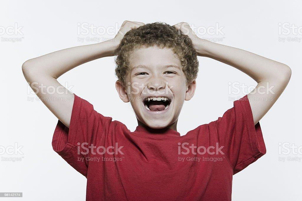Expressive Kids royalty-free stock photo