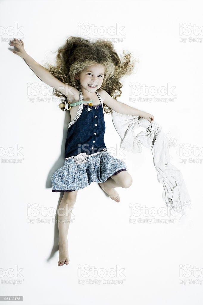 Espressivo per bambini foto stock royalty-free