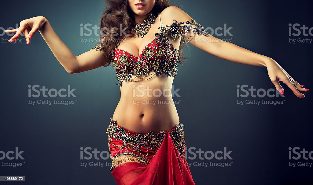 Expressive movement of dance. stock photo