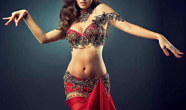 Expressive movement of dance. stock photo
