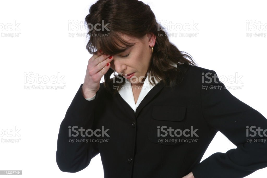 Expressive Professional Woman royalty-free stock photo