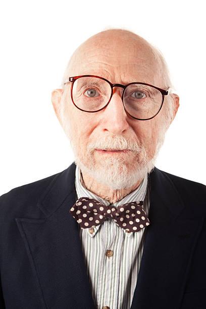 expressive senior mann - wie lange leben fliegen stock-fotos und bilder