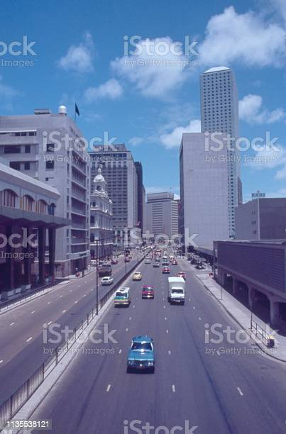Expressway in Hong Kong