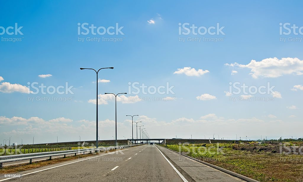 Expressway royalty-free stock photo
