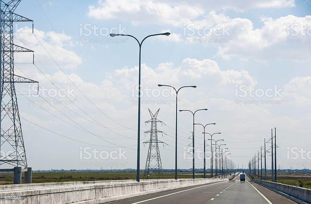 Expressway royalty-free stock photo