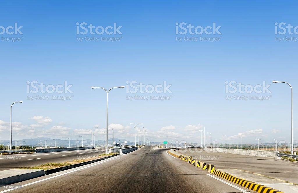Expressway foto stock royalty-free