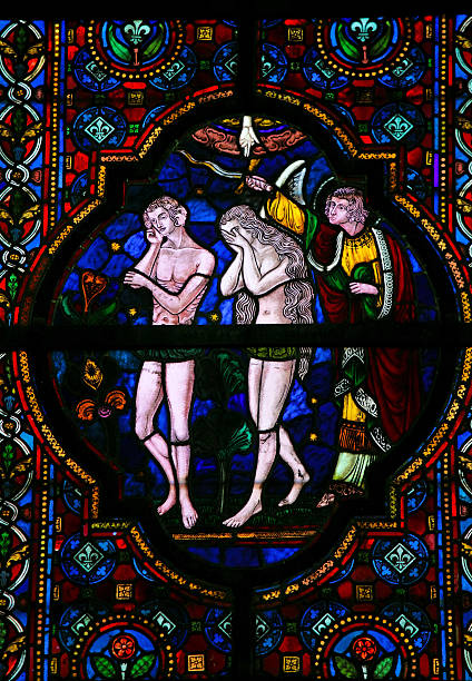 Vertreibung von Adam und EVA aus dem Paradies – Foto