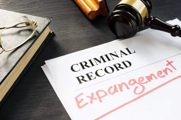 Expunge of criminal record. Expungement written on a document. Expunge of criminal record. Expungement written on a document. criminal stock pictures, royalty-free photos & images