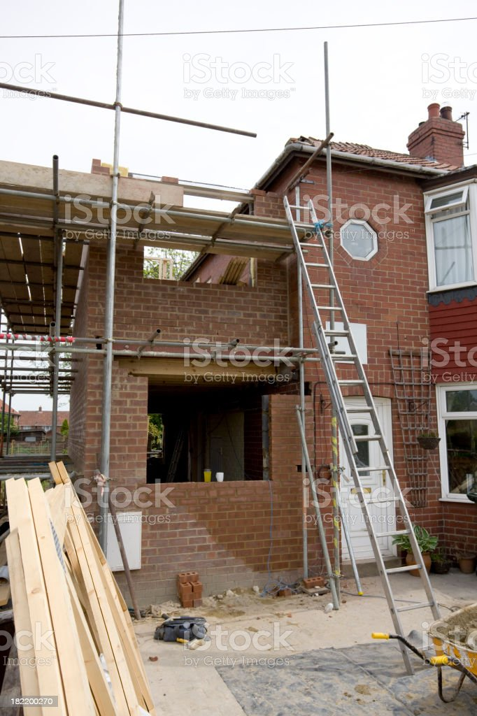 Extension Building royalty-free stock photo