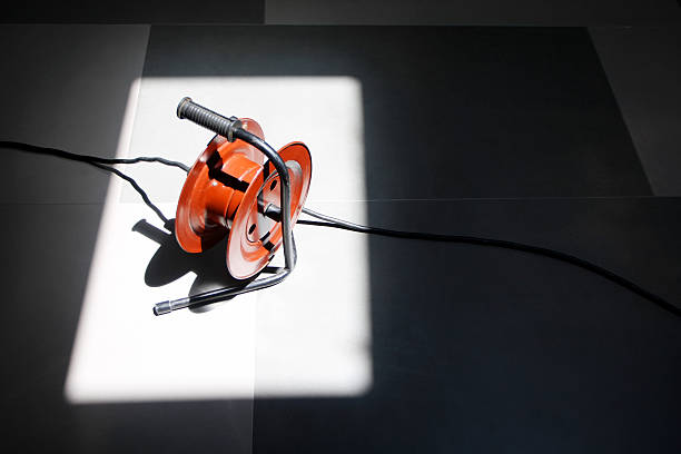 Extension cord stock photo
