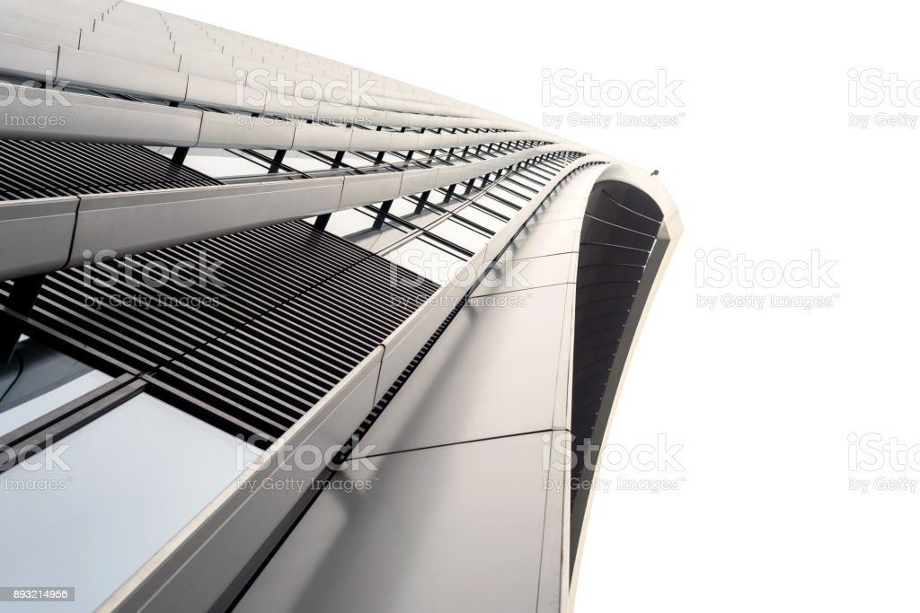 Exterior 20 Fenchurch Building Abstract stock photo