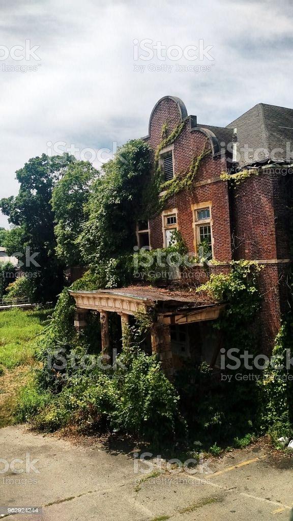 Exterior Building Pennhurst Asylum Abandoned Photography Stock Photo Download Image Now Istock
