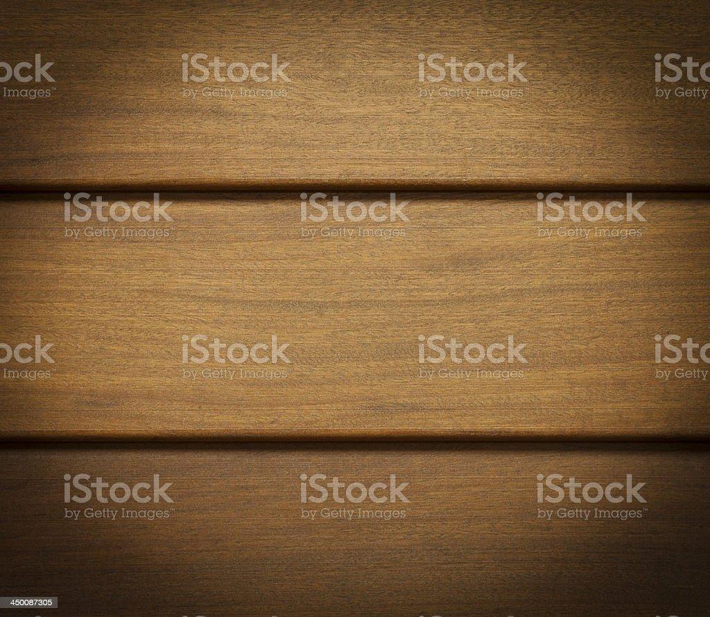 Exterior floorboards ipe stock photo