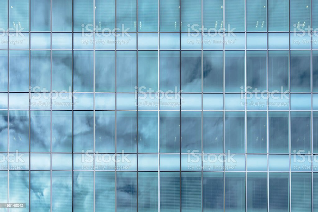 glass exterior modern office. Exterior Glass Windows Of A Modern Office Building Royalty-free Stock Photo