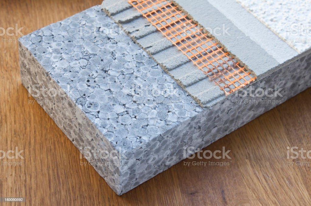 Exterior Insulation stock photo