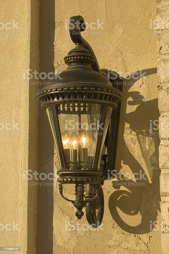 Exterior Lamp royalty-free stock photo