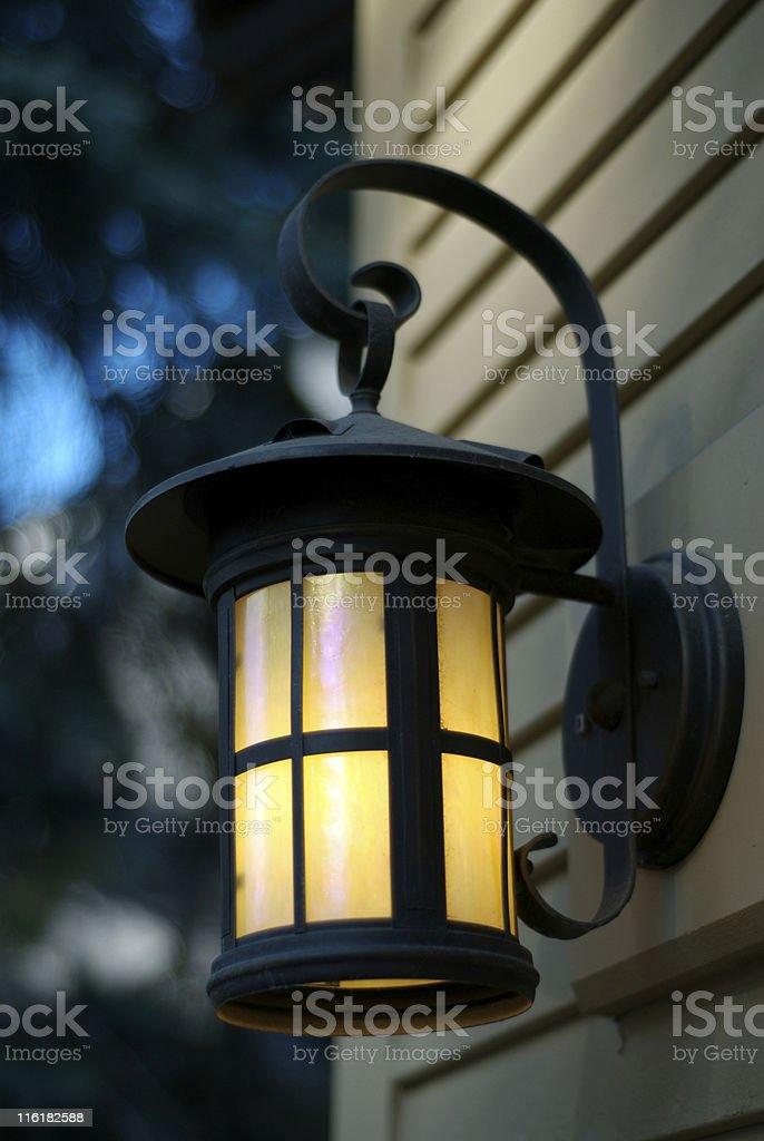 Exterior Light fixture royalty-free stock photo