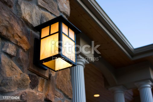 Exterior lighting.  Part of my luxury home collection.  Please visit my lightbox for more similar photos