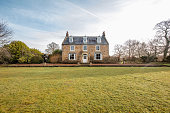 istock Exterior of a Country House 1143231232