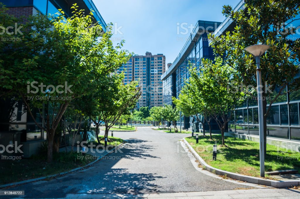 Exterior Of A Modern Small Office Building Stock Photo Download Image Now Istock