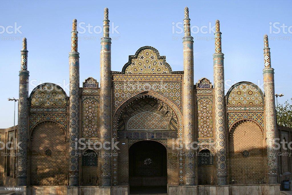 Außenansicht einer Moschee in Yazd, Iran – Foto