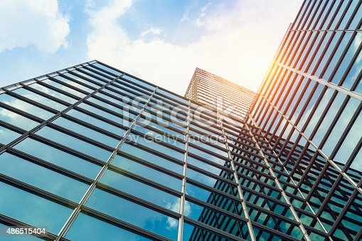 istock exterior of glass office building 486515404