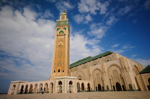 Exterior Of Hasan Ii Mosquecasablanca Stock Photo - Download Image Now