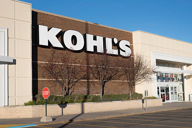 Exterior of Kohl's department store stock photo