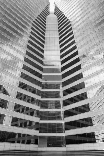 Außenseite der modernen Architektur. Abstrakter Hintergrund – Foto
