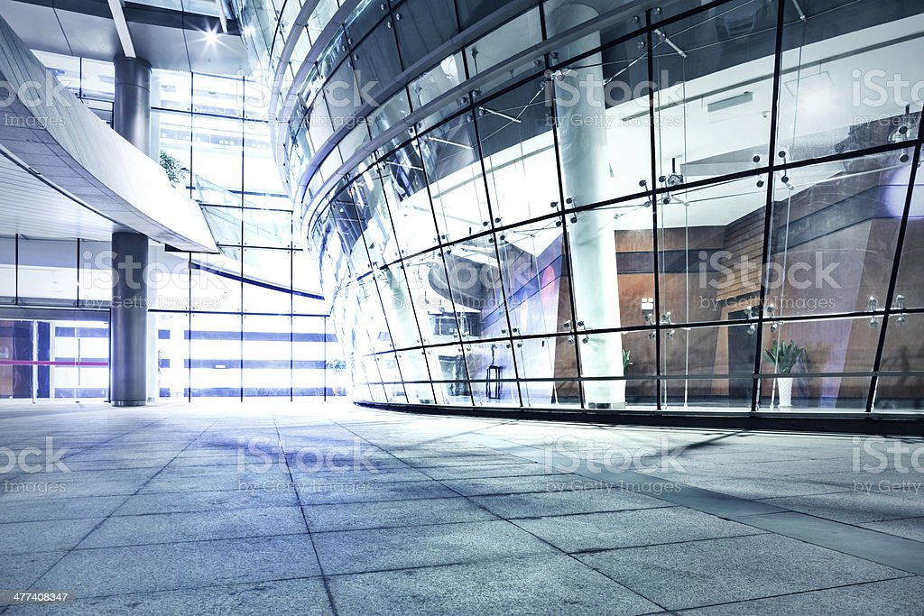 exterior of modern buildings stock photo