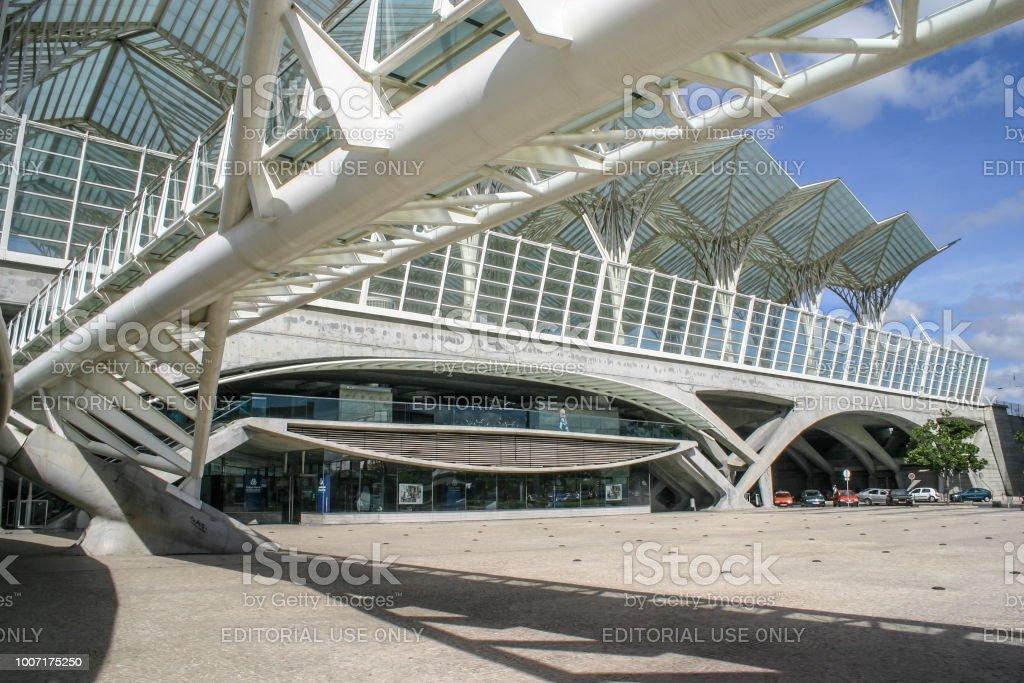 Exterieur Des Oriente Tube Station Beispiel Fur Moderne
