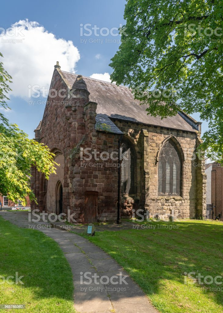 Exterior of St Chad's Church in Shrewsbury - Royalty-free Architecture Stock Photo