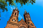 istock Exterior of the Gothic Catholic Church of the Holy Family 1093719138