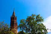 istock Exterior of the Gothic Catholic Church of the Holy Family 1093719168