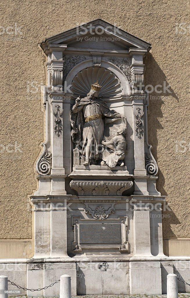 Esterno Schottenkirche foto stock royalty-free