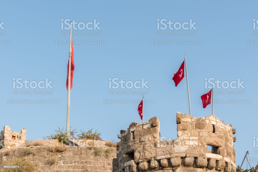 Exterior view of Castle of St. Peter royalty-free stock photo