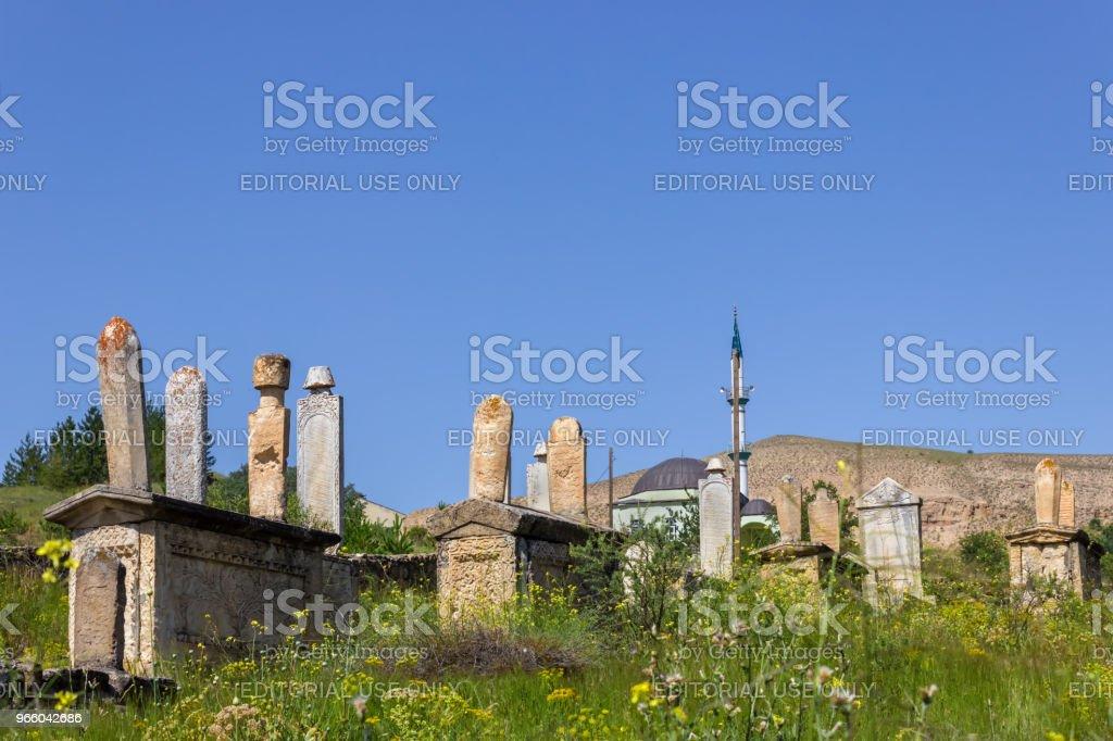 Exterior view of Mengujek Ghazi's tomb - Royalty-free Anatolia Stock Photo
