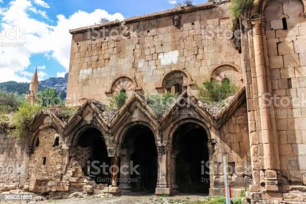 Außenansicht Des Oshki Oder Oshk Vank Kirche Stockfoto und mehr Bilder von Alt