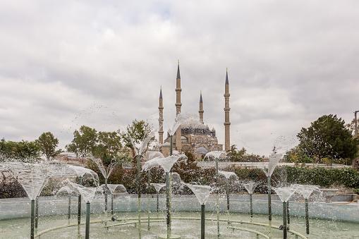 Außenansicht Der Selimiyemoschee In Edirne Türkei Stockfoto und mehr Bilder von Alt