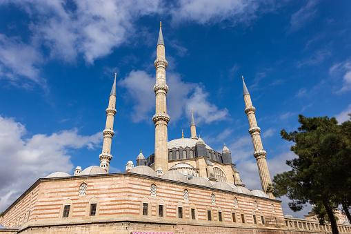 에디르네 터키에서 셀 리 미 예 모스크의 외부 보기 0명에 대한 스톡 사진 및 기타 이미지