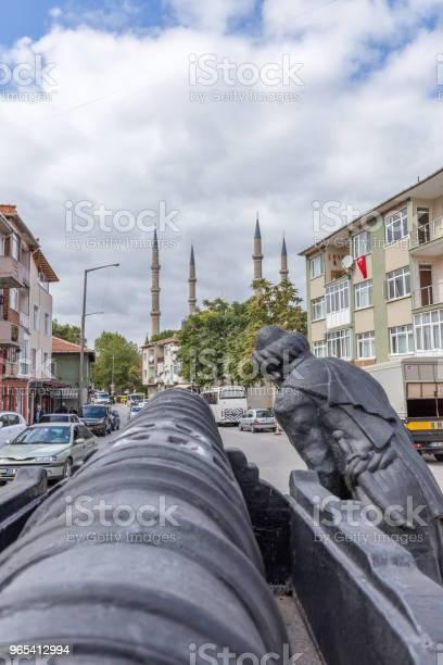 Widok Na Zewnątrz Meczetu Selimiye W Edirneturcja - zdjęcia stockowe i więcej obrazów Architekt