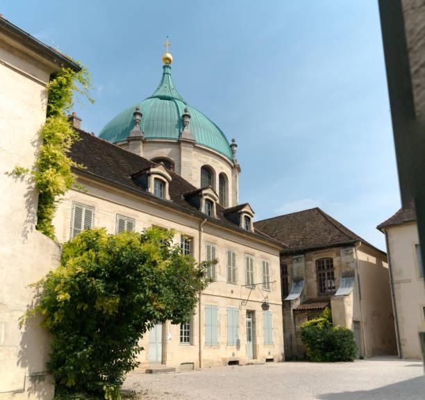 Außenansicht des Musee de la Vie Bourguignonne oder des Museums für burgundisches Leben in Dijon – Foto
