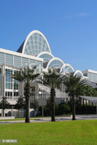 istock Exterior view of the Orange County Convention Center 91680920