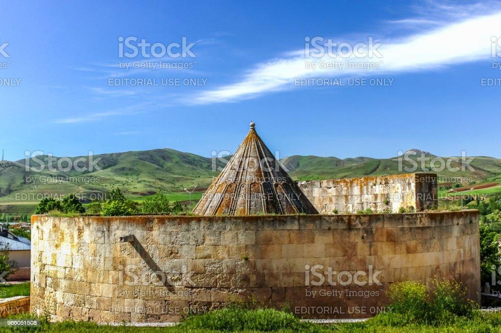 Buitenaanzicht van graf van umutcan Mama Hatun - Royalty-free Anatolië Stockfoto
