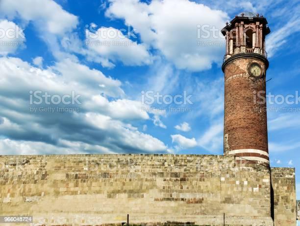 Außenansicht Des Tablett Minarett Oder Clock Tower Stockfoto und mehr Bilder von Alt