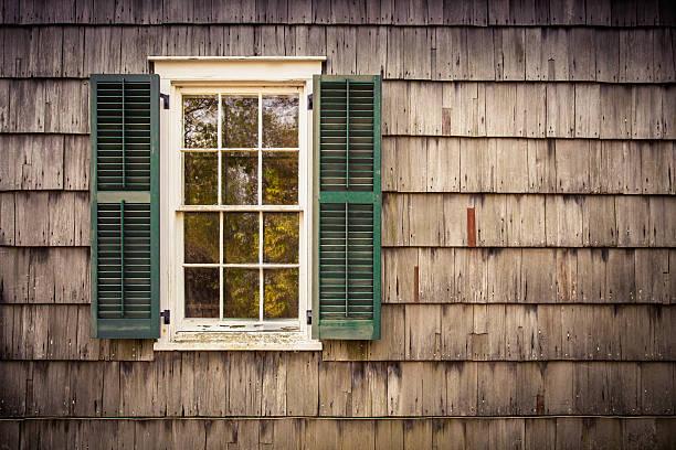 Exterior Window stock photo