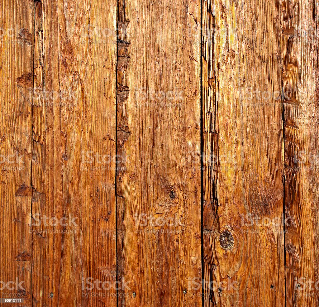 Exterior wooden plank royalty-free stock photo