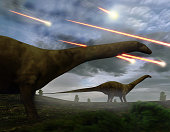 Extinction Of The Dinosaurs Meteor Shower