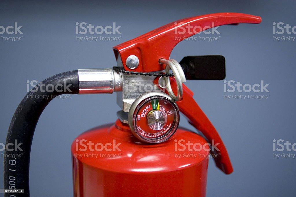 Extinguisher royalty-free stock photo