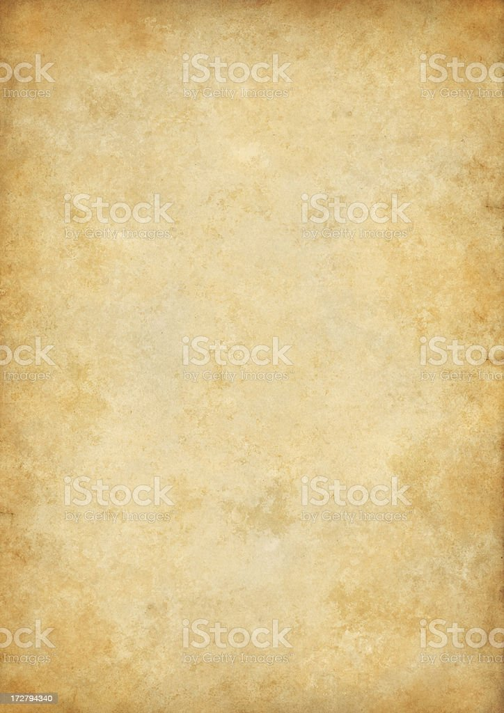 extra large old paper stock photo